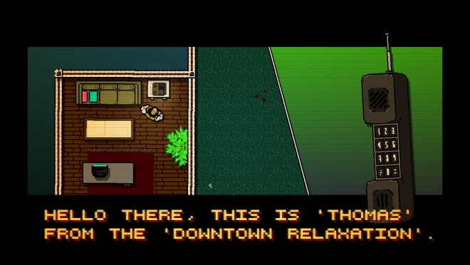 Hotline Miami Phone Call