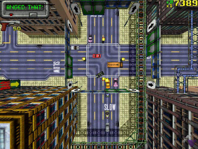 GTA 1 (PC) : En voiture Simone !
