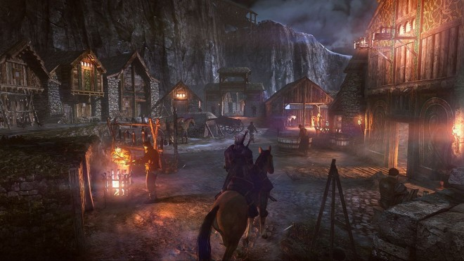 """Spécialité des jeux """"The Witcher"""" : Les effets de lumière."""